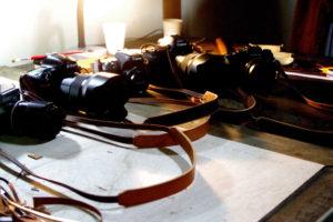 カメラ用レザーストラップ
